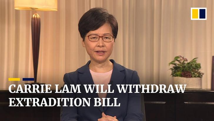 Фото №1 - Правительство Гонконга согласилось частично выполнить требования протестующих