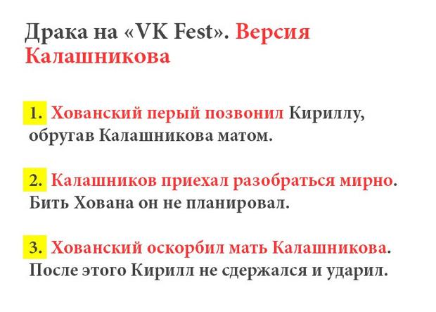 Фото №4 - Что произошло между Юрой Хованским и Кириллом Калашниковым после VKfest?