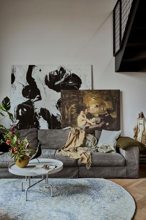 Фото №3 - Эклектичная квартира со спальней в мезонине в Познани