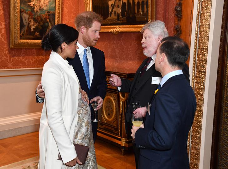 Фото №3 - Герцоги Кембриджские и Сассекские на приеме в Букингемском дворце