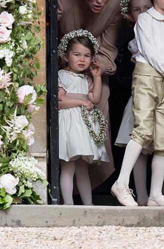 Фото №13 - Принцесса Шарлотта и принц Джордж на свадьбе Пиппы Миддлтон (фото)
