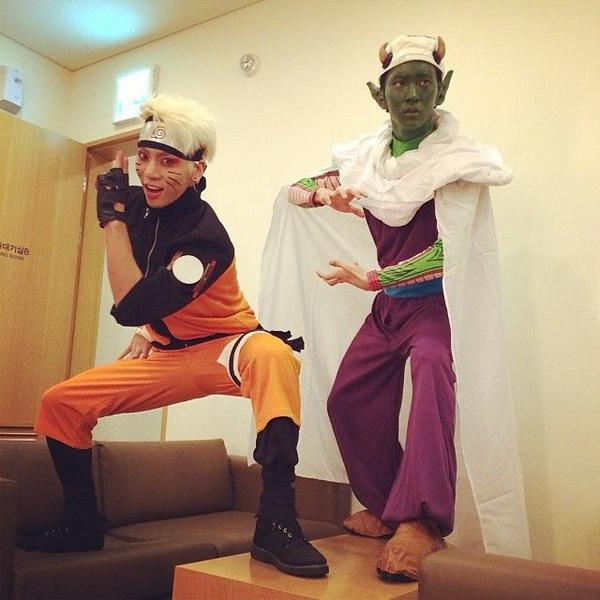 Фото №1 - 10 лучших костюмов k-pop айдолов на Хэллоуин