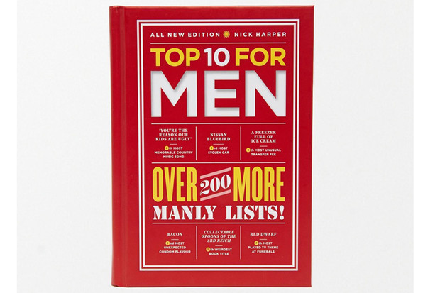 Книга Top 10 For Men Book, Asos, 1 000 руб.