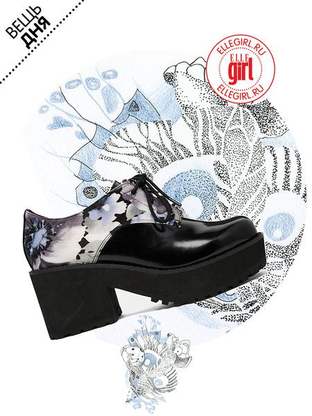 Фото №1 - Вещь дня: Ботинки Asos с цветочным принтом