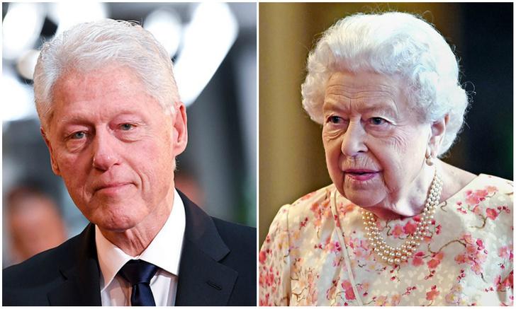 Фото №1 - Британец прославился в Интернете, потому что похож одновременно на Елизавету II и на Билла Клинтона