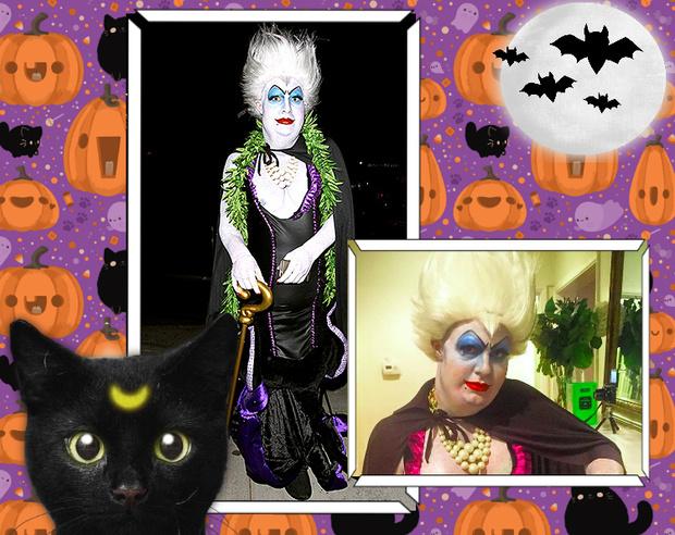 Фото №15 - Лучшие костюмы звезд с прошедшего Хэллоуина