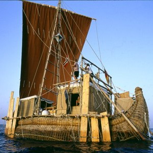Фото №1 - Через Атлантику на тростниковой лодке