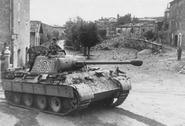 Фото №1 - Багира промахнулась. Почему танк «Пантера» не оправдал ожиданий