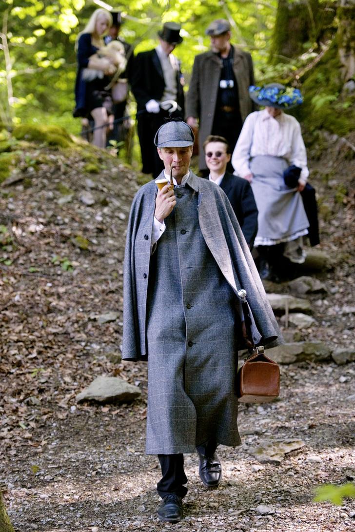 Фото №6 - Святыня шерлокианцев: поход на Рейхенбахский водопад