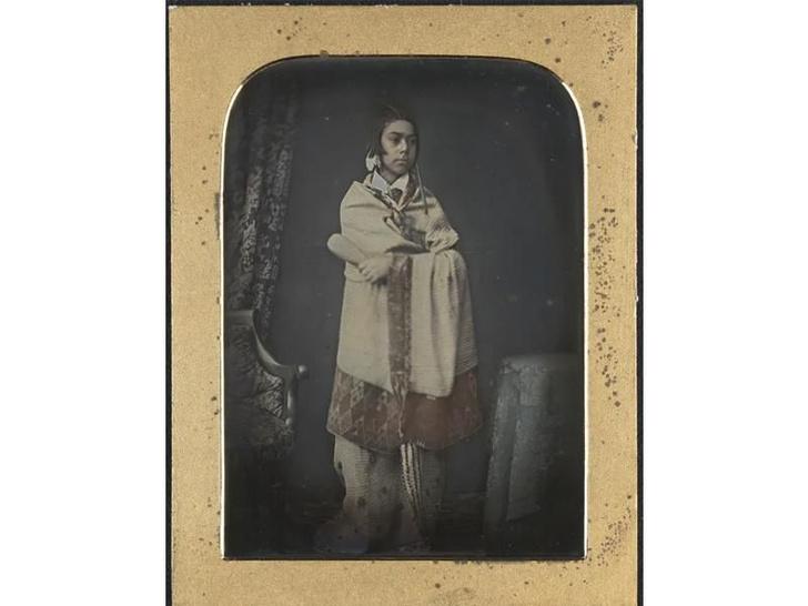 Фото №1 - Обнаружен старейший портрет представителя народа маори