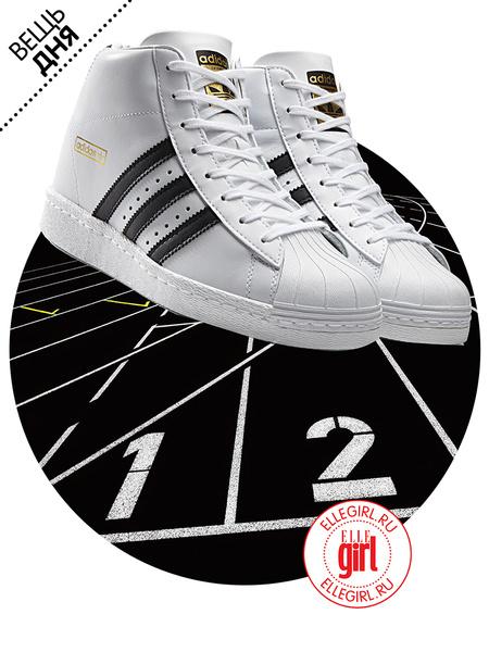 Фото №1 - Вещь дня: Кроссовки adidas Originals Superstar UP