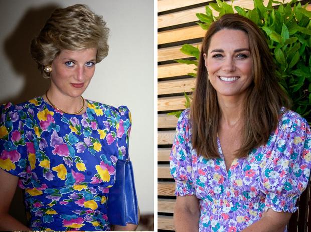 Фото №1 - Главный модный урок Дианы, который Кейт выучила на «отлично»