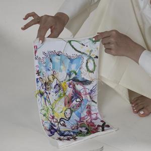 Фото №2 - Искусство в массы: Swatch представил новый паттерн, созданный российской художницей Эллен Шейдлин