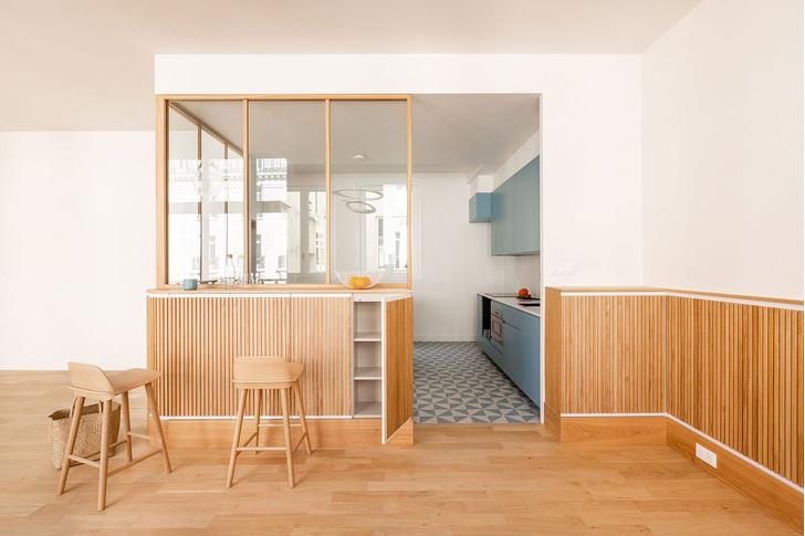Фото №1 - Трехуровневая квартира в Париже