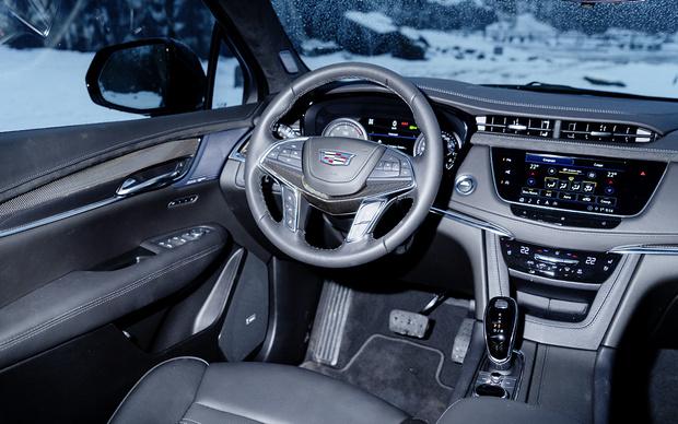 Фото №2 - Cadillac XT5: души меня нежно