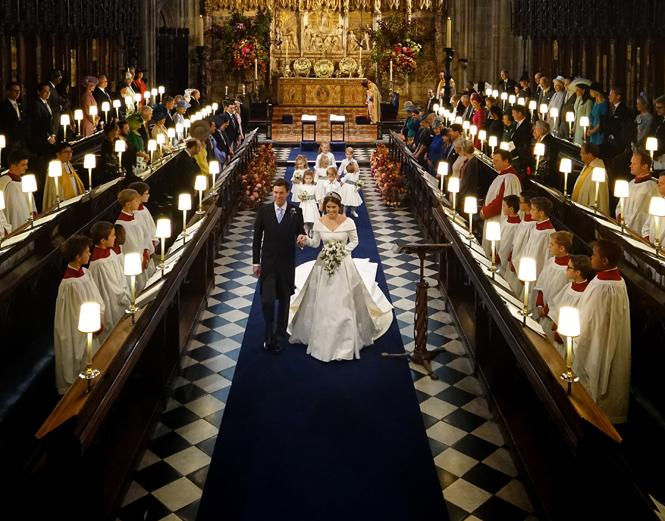 Фото №63 - Свадьба принцессы Евгении и Джека Бруксбэнка