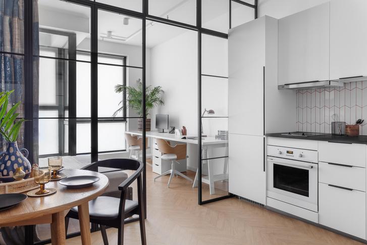 Фото №1 - Идеи для маленьких кухонь: изучаем проекты дизайнеров