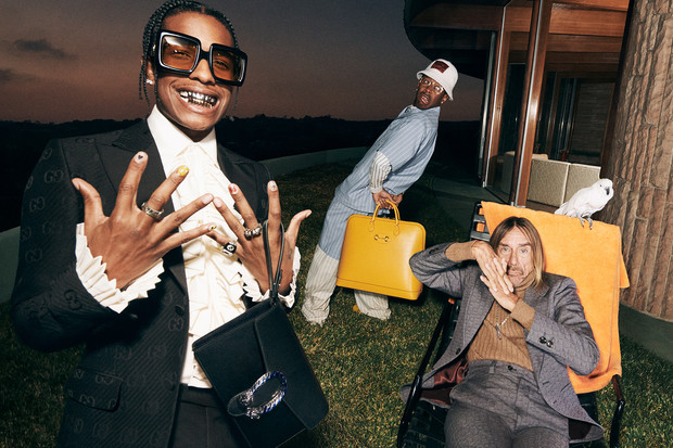 Фото №3 - A$AP Rocky, Игги Поп и Tyler, The Creator в новой рекламной кампании Gucci. И это очень стильно!