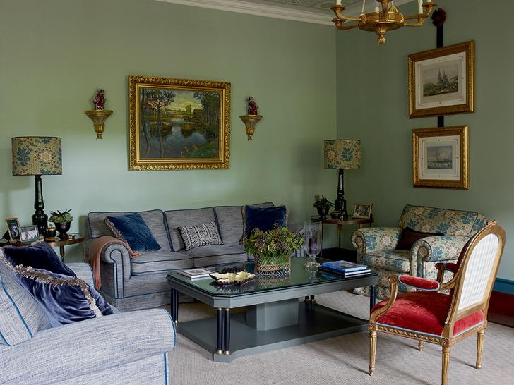 Фото №6 - Зеленый цвет в интерьере: советы по декору