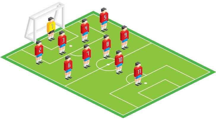 Фото №11 - Болей как Бекхэм! Памятка футбольным любителям для Евро-2020