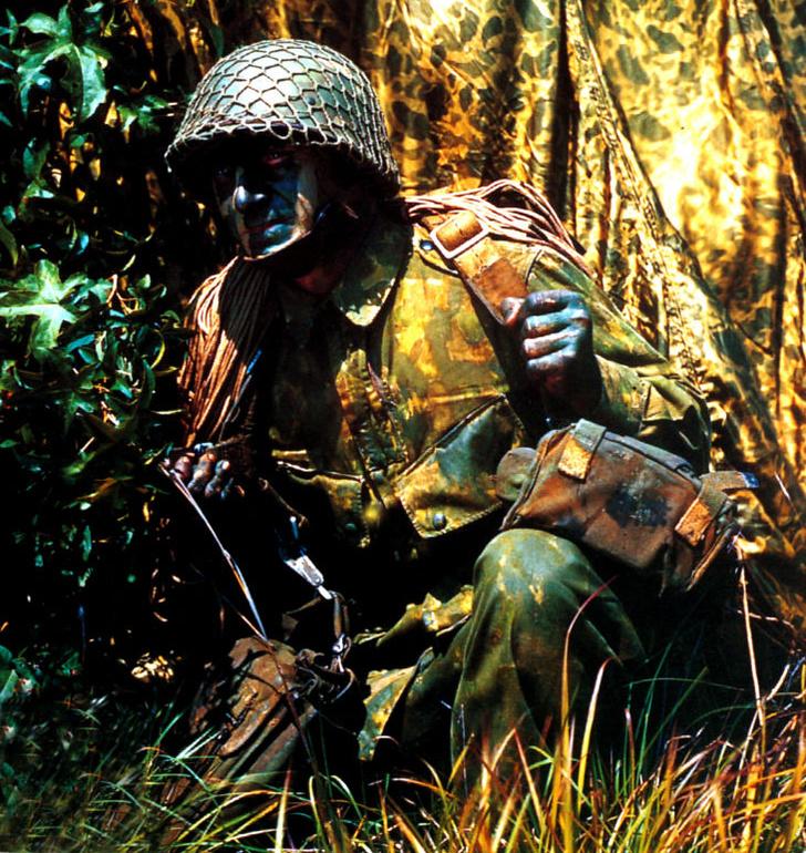 Фото №4 - Короли перевоплощения: 17 шедевров военной маскировки