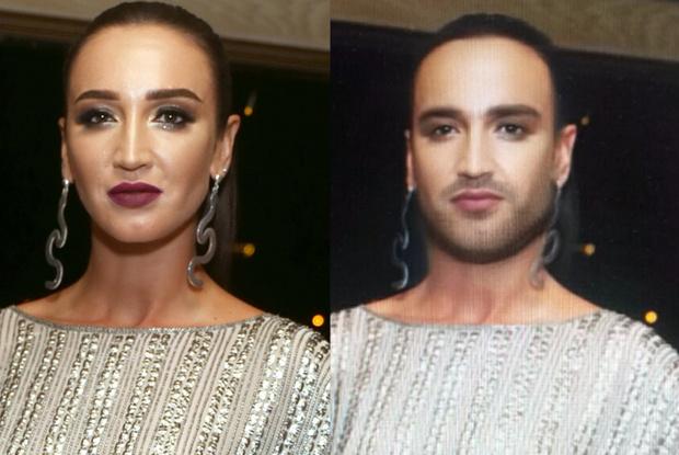 Фото №1 - Как бы выглядели российские красавицы, если бы были мужчинами
