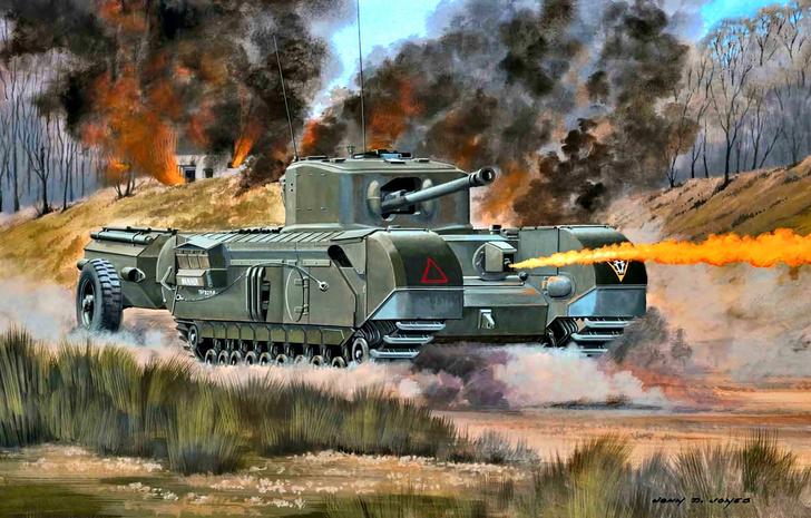 Фото №2 - «Степень поджарки— well done»: сложная судьба огнеметного танка