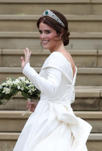 Фото №3 - Как на свадьбе принцессы Евгении проявился «эффект Грейс Келли»