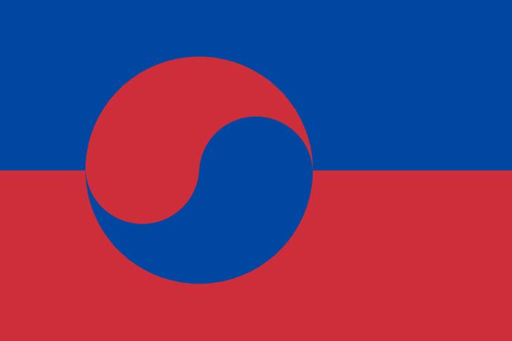 Фото №9 - Флаги одних государств в виде флагов других государств (странная галерея)