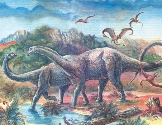 Фото №1 - Легенды и были о динозаврах