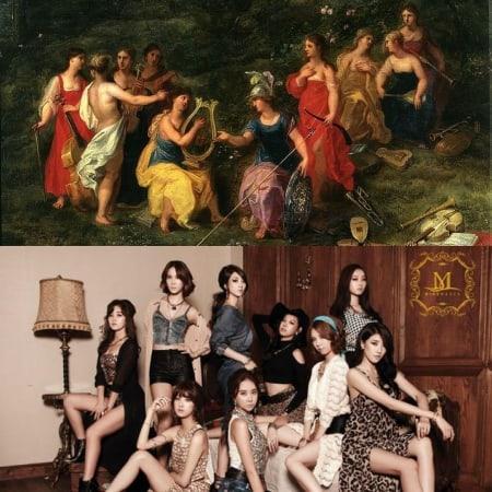 Фото №5 - Глубокомысленный k-pop: 10 случаев, когда айдолы заимствовали образы из мифов Древней Греции