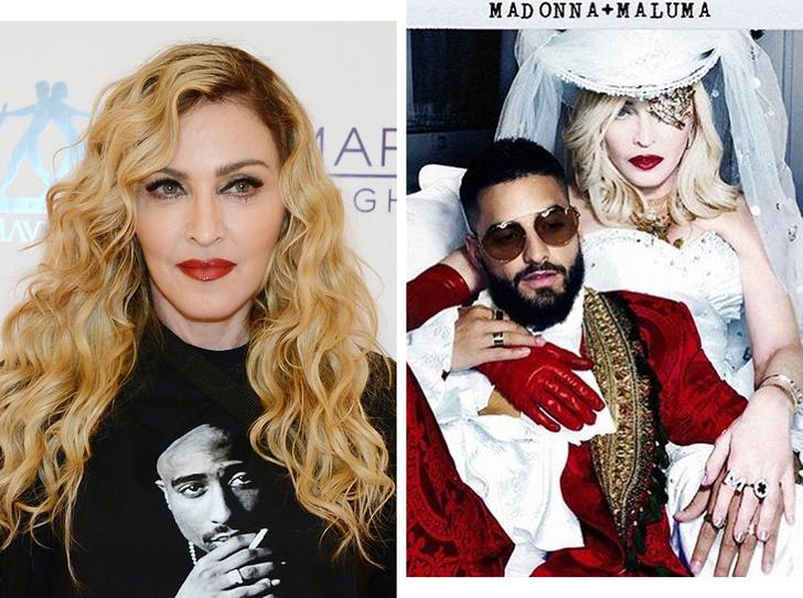 Фото №1 - Мадонна примерила образ «невесты ковбоя»