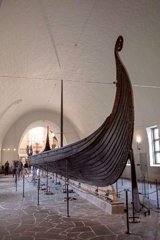 Фото №2 - В Норвегии впервые за сто лет поднимут из-под земли тысячелетний корабль викингов