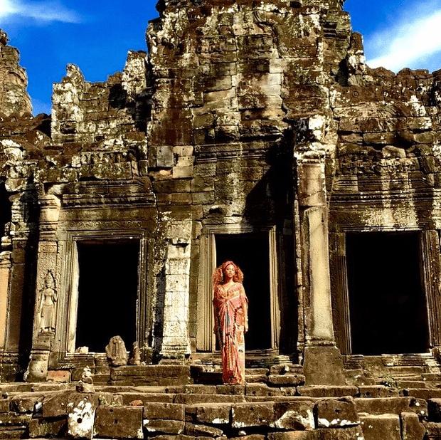 Фото №5 - Звездный Instagram: Знаменитости путешествуют