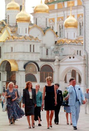 Фото №13 - Диана в Москве: как прошел единственный визит принцессы в Россию