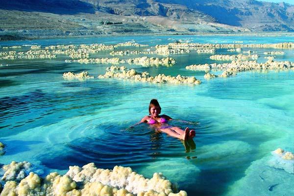 Фото №1 - Живая сила Мертвого моря