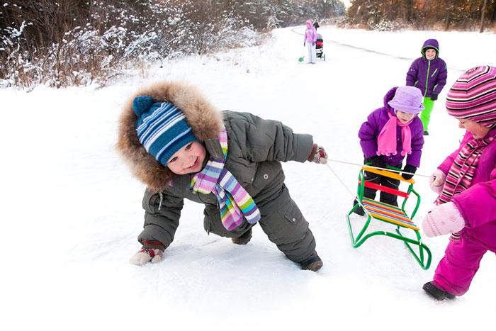 Фото №2 - На скользкой дорожке: зимние травмы у детей