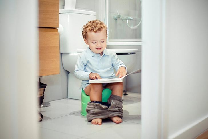 Как приучить ребенка к горшку, советы психолога