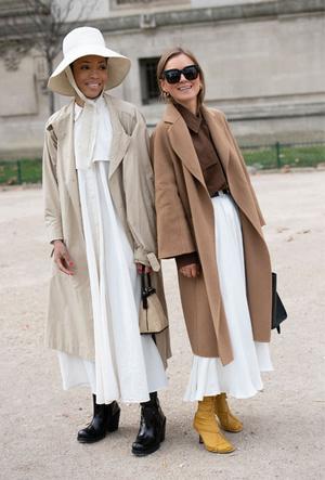 Фото №9 - Главная покупка сезона: где искать классическое бежевое пальто, как у Меган