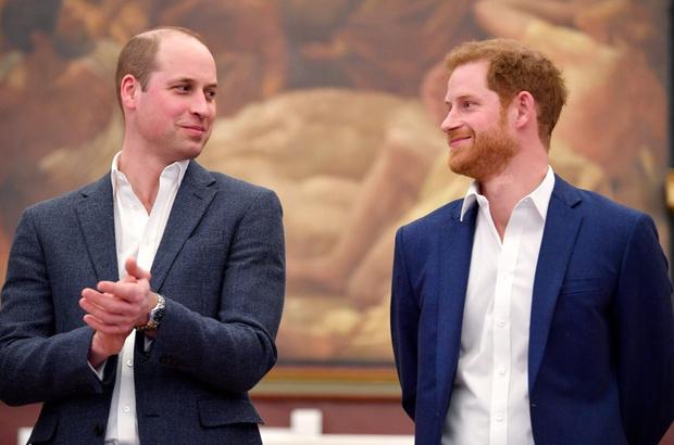 Фото №1 - В центре внимания: Гарри и Уильям провели приватную встречу