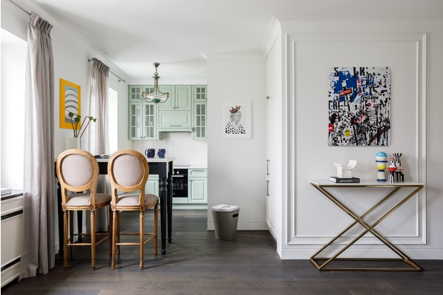 Фото №1 - Легкость бытия: квартира 48 м² в центре Москвы