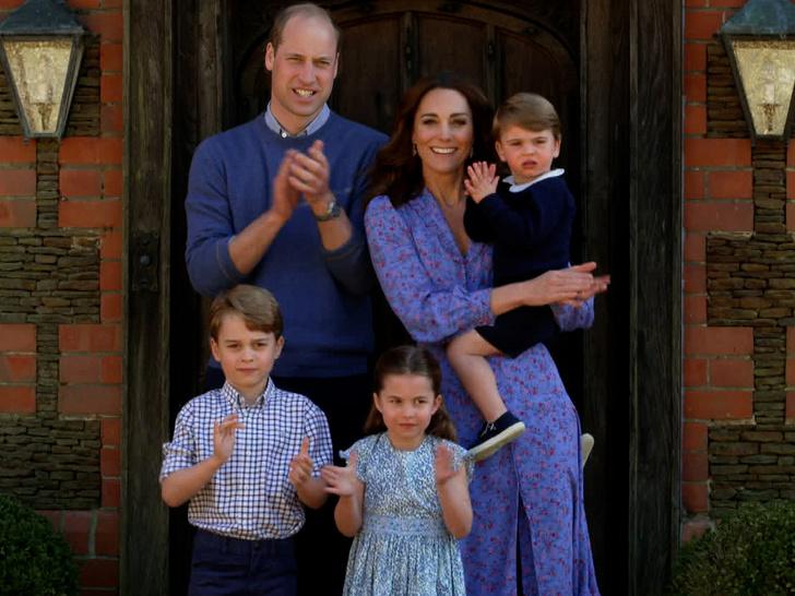 Кейт Миддлтон, принц Уильям, дети, воспитание детей, воспитание во дворце, последние новости 2021,