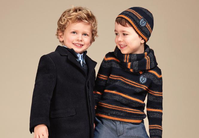 Фото №22 - Модные школьники: детская коллекция Dolce&Gabbana осень-зима 16/17