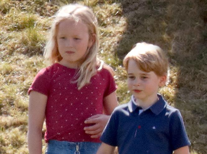 Фото №2 - Дерзкая родственница: принцу Джорджу снова досталось от кузины