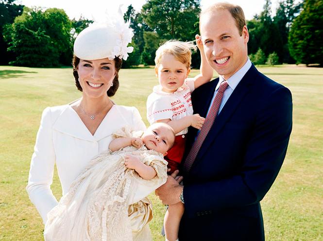 Фото №10 - Принцесса Шарлотта Кембриджская: первый год в фотографиях