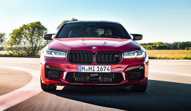 Фото №1 - BMW представила самую быструю «пятерку»