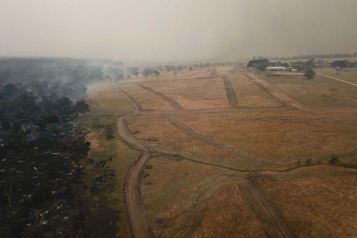 Фото №1 - Пожары в Австралии позволили сделать археологическое открытие