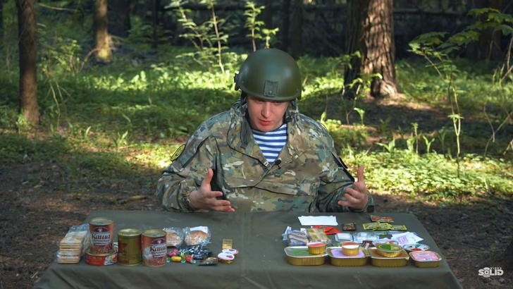 Фото №2 - Видеоблогер сравнил армейские сухпайки— российский и белорусский