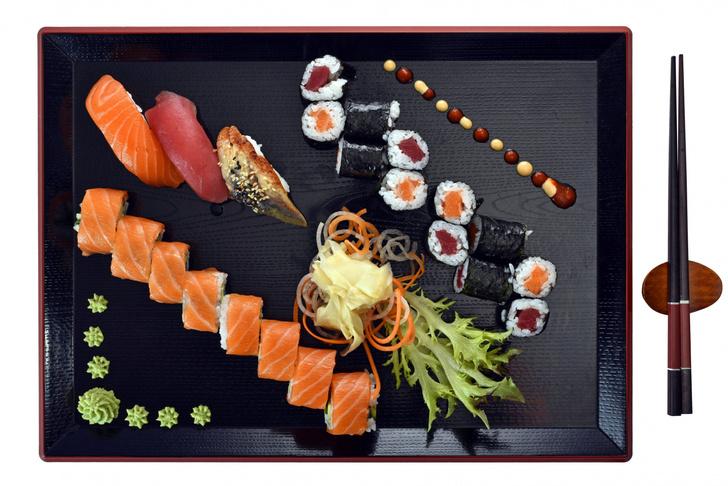 Фото №1 - В рыбе для суши увеличилось количество паразитов