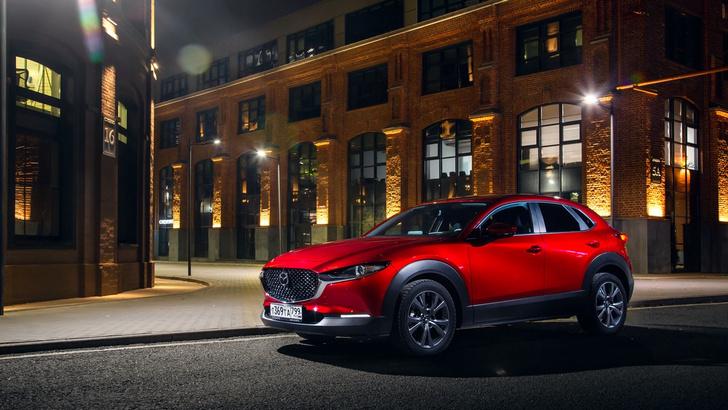 Фото №1 - Новая Mazda CX-30 приехала в Россию